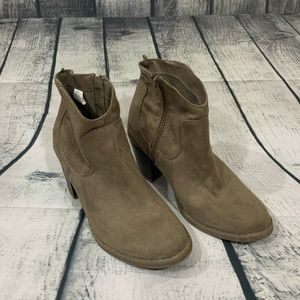 Old Navy Faux Suede Ankle Boots